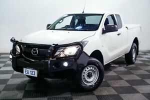 2016 Mazda BT-50 UR0YF1 XT 4x2 Hi-Rider White 6 Speed Sports Automatic Utility Edgewater Joondalup Area Preview