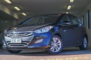 2014 Hyundai i30 GD MY14 Elite Black 6 Speed Sports Automatic Hatchback Willagee Melville Area Preview