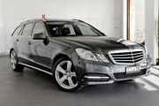 2011 Mercedes-Benz E250 CDI S212 MY12 BlueEFFICIENCY Estate 7G-Tronic + Elegance Blue 7 Speed Artarmon Willoughby Area Preview