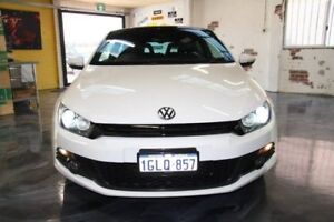 2009 Volkswagen Scirocco White Sports Automatic Dual Clutch Hatchback