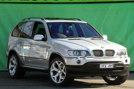 2001 BMW X5 E53 4.4I Silver 5 Speed Auto Steptronic Wagon Ringwood East Maroondah Area Preview