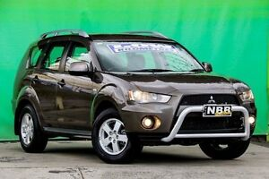 2009 Mitsubishi Outlander ZG MY09 LS Ironbark 6 Speed Constant Variable Wagon Ringwood East Maroondah Area Preview