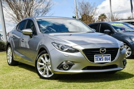 2015 Mazda 3 BM5236 SP25 SKYACTIV-MT GT Silver 6 Speed Manual Sedan Wangara Wanneroo Area Preview