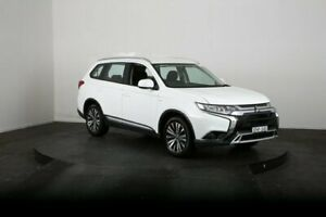 2018 Mitsubishi Outlander ZL MY18.5 ES 7 Seat (2WD) White Continuous Variable Wagon McGraths Hill Hawkesbury Area Preview