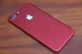 New Condition 7 plus 256 Unlocked!! 7 days old bargain Mint condition 2 cases provided
