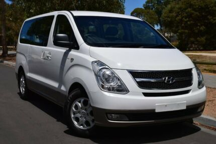 2013 Hyundai iMAX TQ-W MY13 White 5 Speed Automatic Wagon St Marys Mitcham Area Preview