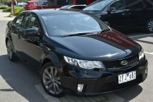 2012 Kia Cerato TD MY13 Koup SI Black 6 Speed Sports Automatic Coupe