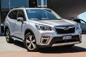 2018 Subaru Forester S5 MY19 2.5i-S CVT AWD Ice Silver 7 Speed Constant Variable Wagon Wangara Wanneroo Area Preview