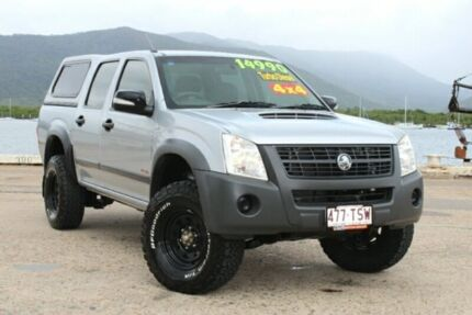 2008 Holden Rodeo RA MY08 LX Crew Cab Silver 5 Speed Manual Utility