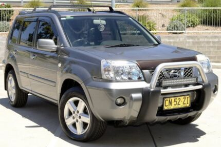 2006 Nissan X-Trail T30 MY06 TI (4x4) Grey 4 Speed Automatic Wagon