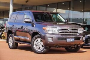 2015 Toyota Landcruiser VDJ200R Sahara Grey 6 Speed Sports Automatic Wagon Gosnells Gosnells Area Preview