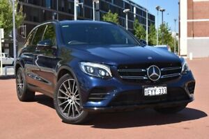 2016 Mercedes-Benz GLC-Class X253 807MY GLC250 9G-Tronic 4MATIC Blue 9 Speed Sports Automatic Wagon Fremantle Fremantle Area Preview