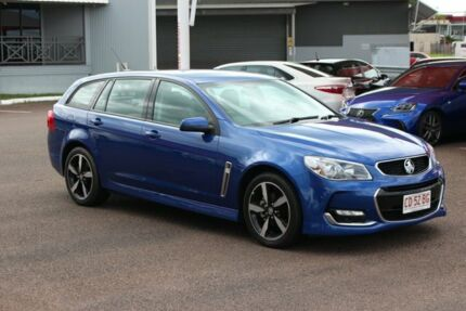 2017 Holden Commodore VF II MY17 SV6 Sportwagon Blue 6 Speed Automatic Wagon The Gardens Darwin City Preview