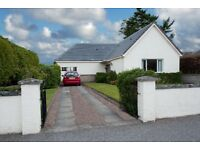 Detached bungalow in West End of Nairn for rent