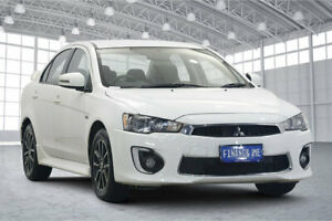 2017 Mitsubishi Lancer CF MY17 ES Sport White 6 Speed Constant Variable Sedan Victoria Park Victoria Park Area Preview