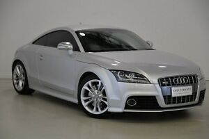 2009 Audi TT 8J MY09 S S tronic quattro Silver 6 Speed Sports Automatic Dual Clutch Coupe Mansfield Brisbane South East Preview