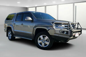 2017 Volkswagen Amarok 2H MY17 V6 TDI 550 Highline Gold 8 Speed Automatic Dual Cab Utility Dalby Dalby Area Preview