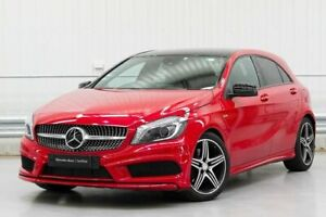 2013 Mercedes-Benz A-Class W176 A250 Sport Red Sports Automatic Dual Clutch Parramatta Parramatta Area Preview