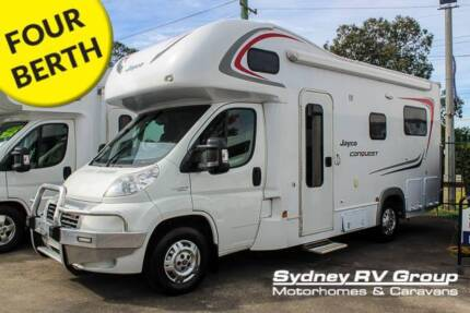 U3498 Jayco Conquest 2013 Huge Rear Lounge & Electric Bed