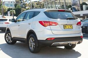 2013 Hyundai Santa Fe DM MY13 Active Silver 6 Speed Sports Automatic Wagon Brookvale Manly Area Preview