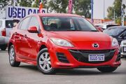 2011 Mazda 3 BL10F1 MY10 Neo Activematic Red 5 Speed Sports Automatic Sedan Bellevue Swan Area Preview