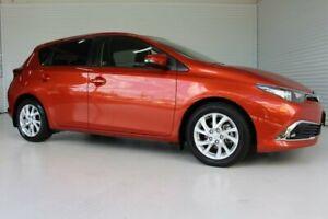 2017 Toyota Corolla ZRE182R Ascent Sport Orange 7 Speed Automatic Hatchback Parramatta Park Cairns City Preview