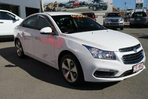 2016 Holden Cruze JH Series II MY16 Z-Series White 6 Speed Sports Automatic Sedan Cleveland Redland Area Preview