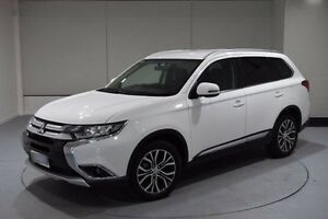 2015 Mitsubishi Outlander ZK MY16 LS 4WD White 6 Speed Constant Variable Wagon Invermay Launceston Area Preview