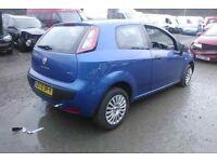 2010 Fiat Punto Evo 1.4 Blue October 2018 Starts & Drives Fine DIY Repair Bargain Low Miles