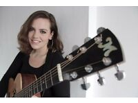 GIRL AND A GUITAR - A Professional Musician For Your Event
