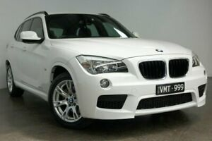 2011 BMW X1 E84 MY11 xDrive20d Steptronic White 6 Speed Sports Automatic Wagon South Melbourne Port Phillip Preview