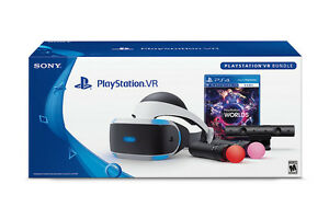 PSVR Bundle  Includes RE7 and 2 Year Warranty Perfect Condition