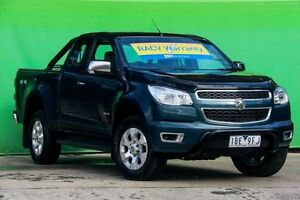 2013 Holden Colorado RG MY14 LTZ Space Cab Blue 6 Speed Sports Automatic Utility Ringwood East Maroondah Area Preview