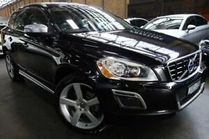 2014 Volvo XC60 DZ MY14 D5 Geartronic AWD R-Design Black 6 Speed Sports Automatic Wagon Port Melbourne Port Phillip Preview