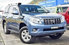 2010 Toyota Landcruiser Prado KDJ150R GXL (4x4) Blue 5 Speed Sequential Auto Wagon Gosford Gosford Area Preview