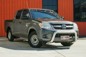 2007 Toyota Hilux TGN16R MY07 Workmate 4x2 Grey 5 Speed Manual Utility Molendinar Gold Coast City Preview