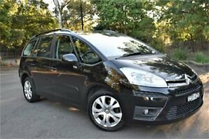 2011 Citroen C4 Picasso HDi EGS Noir Onyx 6 Speed Sports Automatic Single Clutch Wagon Five Dock Canada Bay Area Preview