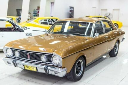 1968 Ford Falcon XT GT Gold 3 Speed Automatic Sedan Carss Park Kogarah Area Preview