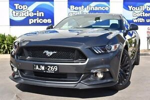 2016 Ford Mustang FM MY17 GT Fastback Grey 6 Speed Manual Fastback Epping Whittlesea Area Preview