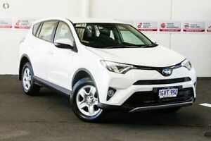 2018 Toyota RAV4 ASA44R MY18 GX (4x4) Glacier White 6 Speed Automatic Wagon Rockingham Rockingham Area Preview