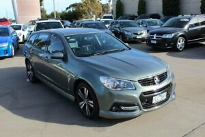 2014 Holden Commodore VF SV6 Storm Grey 6 Speed Automatic Sportswagon Werribee Wyndham Area Preview