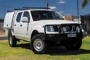 2012 Nissan Navara D40 S6 MY12 RX King Cab White 6 Speed Manual Cab Chassis Wangara Wanneroo Area Preview
