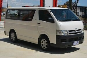 2009 Toyota Hiace TRH201R MY08 LWB White 4 Speed Automatic Van Kenwick Gosnells Area Preview