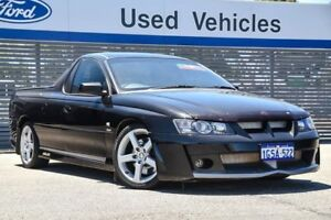 2004 Holden Special Vehicles Maloo Y Series 2 R8 Black 4 Speed Automatic Utility