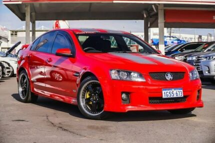 2009 Holden Commodore VE MY09.5 SS-V Red 6 Speed Automatic Sedan Osborne Park Stirling Area Preview