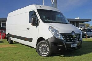 2015 Renault Master X62 Mid Roof MWB AMT White 6 Speed Sports Automatic Single Clutch Van Wangara Wanneroo Area Preview