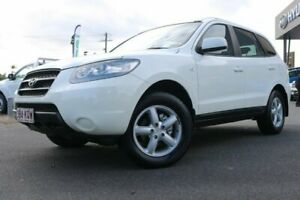 2007 Hyundai Santa Fe CM MY08 SX White 5 Speed Sports Automatic Wagon Earlville Cairns City Preview