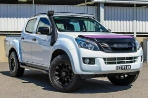 2012 Isuzu D-MAX TF MY12 LS-Terrain HI-Ride (4x4) White 5 Speed Automatic Crew Cab Utility Cannington Canning Area Preview