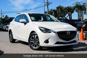 2018 Mazda 2 DL2SAA GT SKYACTIV-Drive White 6 Speed Sports Automatic Sedan Wangara Wanneroo Area Preview