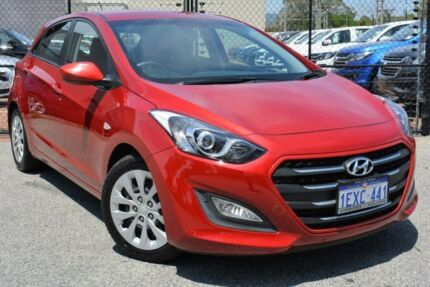 2015 Hyundai i30 GD3 Series II MY16 Active Red 6 Speed Sports Automatic Hatchback Gosnells Gosnells Area Preview